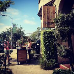 The Roast Coach coffee cart in North Park (by alice q. foodie)