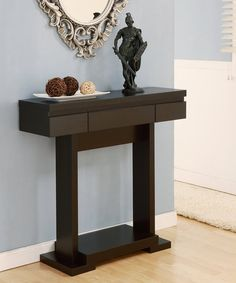 Take a look at this Cappuccino Tustin Modern Console Table today!