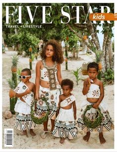 """#ECOHOTELS #SWD #GREEN2STAY Jean-Michel Cousteau Fiji Islands Resort   We are proud of our gorgeous """"daughter"""" of the resort, Grace, who stars on the next cover of Five Star Kids magazine. Image taken at the resort's private island, Naviavia. www.fijiresort.com - http://www.green2stay.com/asia-pacific-eco-hotels"""