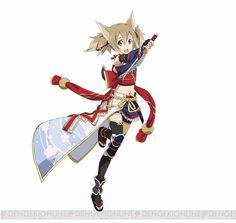 "Crunchyroll - ""Sword Art Online"" Smartphone Game Gives Girls Samurai Redesigns"