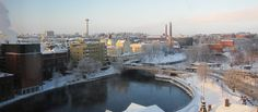snowy Tampere