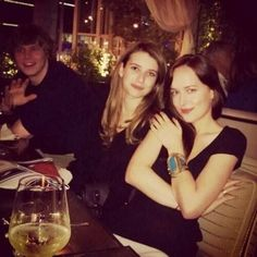 With Emma Roberts and  Evan Peters