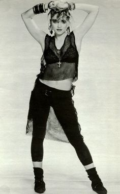 Oh Madonna when she was cool...not scary and faintly pathetic...