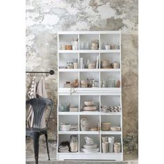 ib laursen Yarn Storage, Kitchen Organization, Organizing, Shelving, Bookcase, Side Tables, Furniture, Rooms, Home Decor
