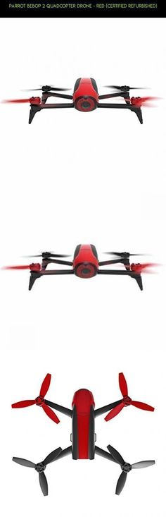 Parrot Bebop 2 Quadcopter Drone - Red (Certified Refurbished) #shopping #racing #plans #drone #products #2 #drone #technology #parts #tech #gadgets #fpv #kit #camera #parrot #dronetechnology