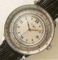 1945 Juvenia 'Arithmo' Slide Rule Watch