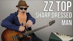 """ZZ Top """"Sharp Dressed Man"""" Guitar Lesson - How to Play on Guitar Blues Guitar Chords, Guitar Strumming, Guitar Chords Beginner, Easy Guitar Songs, Music Guitar, Playing Guitar, Guitar Tips, Guitar Logo, Guitar Tattoo"""