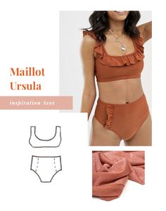12 inspiring couture projects for summer 2020 Cha s Hands Fashion Sewing, Diy Fashion, Fashion Outfits, Style Couture, Couture Tops, Couture Ideas, Diy Clothing, Sewing Clothes, Dress Sewing