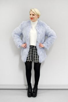 Online Shopping IRL: Team Debrief Try Out All The Best Faux Fur ...