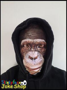 Chimpanzee Face Mask