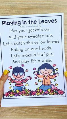 Kindergarten Songs, Kindergarten Classroom, School Classroom, School Teacher, Learning English For Kids, Kids Learning, Teaching Activities, Teaching Reading, English Phonics