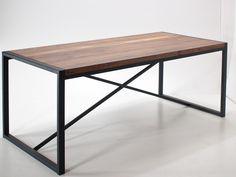 Rozkładany Industrialny stół z dostawkami - Wymiary: 200 + ( 2x 50cm dostawki )x100x76 - 2950zł - Stoły - Meble - Sklep internetowy Guido