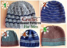 Crochet Beanie Patterns For Men