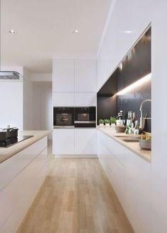 Luxury Kitchen Design, Kitchen Room Design, Best Interior Design, Dining Room Design, Home Decor Kitchen, Interior Design Kitchen, Kitchen Living, Kitchen Craft, Living Room