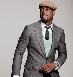 D-Wade. The best dressed man in the NBA.