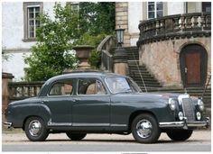 Diesen Mercedes Benz Oberklasse Oldtimer der 50iger Jahre gibts bei THULKE classic (thulke-classic.de)
