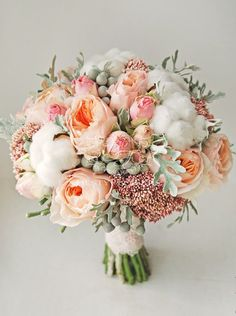Possibly my favorite wedding bouquet I've seen yet.