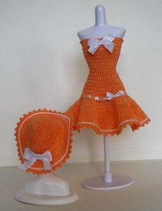 Dress & Hat - (no pattern) #