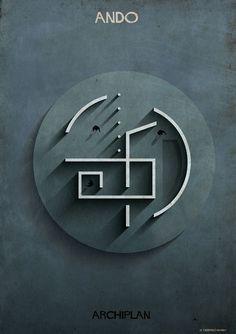 federico babina dissects famous floor plans as architectural labyrinths (Brilliant) Tadao Ando Tadao Ando, A As Architecture, Architecture Drawings, Japanese Architecture, Sustainable Architecture, Montreal Architecture, Zaha Hadid, Koshino House, Labyrinth
