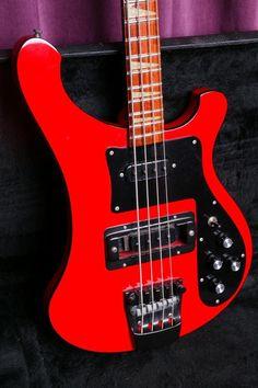 Rickenbacker 4003 Red