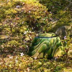 織部刻文花器 Vase with engraved,Oribe Flower Vases, Flowers, Garden Sculpture, Basket, Scene, Type, Outdoor Decor, Bud Vases, Vase