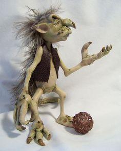 Troll Fairy Fae Goblin OOAK Claydoodles | eBay