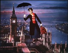 Mary Poppins was shown on TV once a year.  It was a BIG deal.  This and Wizard of Oz were the highlight of my TV time as a child.  I kind of still want to be Mary Poppins. :)