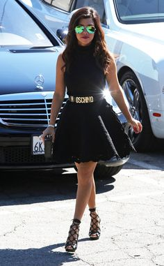 Kourtney Kardashian looks classy and fab while out to lunch in L.A. #style