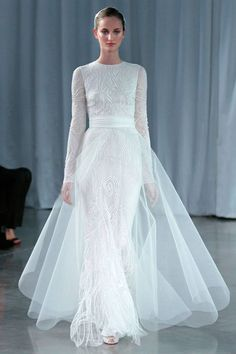 Photo 6 from Monique Lhuillier Fall 2013 Bridal