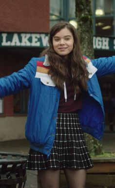 Black friday day weeks New outfit The Edge of Seventeen Hailee Steinfeld Blue Jacket for sale at 40 % discount with free shipping and Gift.  #TheEdigeofSeventeen #Movie #HaileeSteinfeld #Sexy #Hot #Blackfriday #Costume #Celebrities #Cosplay #Fashion #sale #Shopping #geektyrant #geek #geekcheezburger #Womenfashion