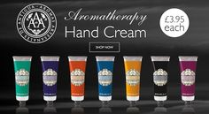 Aromas Artesanales de Antigua Aromatherapy Hand Cream contains shea butter to thoroughly moisturise, nourish and soothe hands.  Available in seven aromatherapy fragrances, this decadent hand cream will give you beautifully soft, healthy and subtly scented skin.  All for only £3.95 / $4.99!