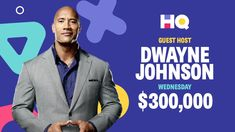 Getting one of those savage questions will be enough to throw you into a rampage, which just so happens to be the film The Rock is promoting. Rock Johnson, The Rock Dwayne Johnson, Dwayne The Rock, Win Money, Make Money Now, Hq Trivia, Lance Gross, Morris Chestnut, Michael Ealy