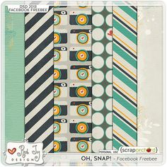 Oh Snap! paper pack freebie from Red Ivy Design