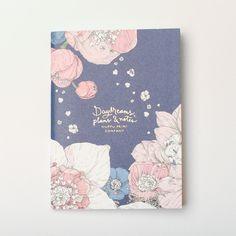"Nuppu Print Company ""Sydäntalvi"" Pink Notebook"