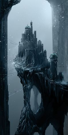 Fantasy Art Engine — Ice Castle by Asim Steckel