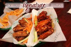 Hackett Hot Wings is known for the best wings in town.  Pick up a bottle of their finger-lickin' sauce while your there.