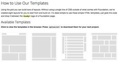 Free Bootstrap 2.3.1 HTML template.   HTML Templates (Free ...