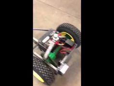 Motorized trailer mover - YouTube