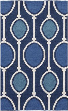 We love this bold and beautiful rug from West Elm. #rug