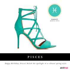 Happy Birthday, Pisces! Read your March Fashion Horoscope on blog.justfab.com