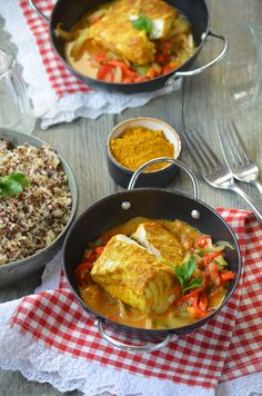 Lemon Fish, Cod Fish Recipes, Dinner Party Recipes, No Cook Meals, Curry, Low Carb, Blog, Cooking, Ethnic Recipes