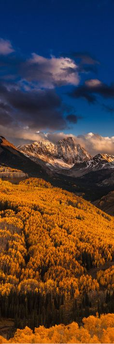 ~~Capitol Peak Fall Sunset ~ Elk Mountains, west of Aspen, within the Maroon Bells-Snowmass Wilderness, Colorado by Thomas O'Brien Beautiful World, Beautiful Places, Beautiful Pictures, Beautiful Beautiful, Absolutely Stunning, All Nature, Amazing Nature, Nature Landscape, Pikes Peak