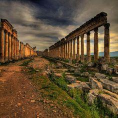 Apamea - Syria by rinogas, via Flickr