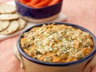 Get this all-star, easy-to-follow Buffalo Chicken Dip recipe from Claire Robinson