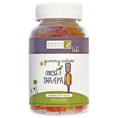 Kids Omega-3 Dha/Epa (60 Gummies) by Natural Dynamix at the Vitamin Shoppe Mobile