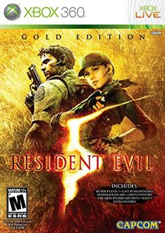 Resident Evil 5 Gold Edition  Xbox 360 *** You can find more details by visiting the image link. Note:It is Affiliate Link to Amazon.