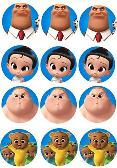 Boss Baby printables - free boss baby cupcake toppers ...