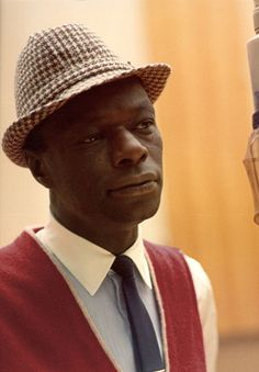 Nat King Cole, he was one of my favorite singers in the 50's and still love his music today as well as his daughter Natalie Cole.