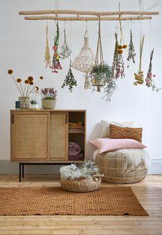 Leiter La Redoute interiores - Best Home Deco My New Room, My Room, Deco Boheme, Bedroom Vintage, Vintage Home Decor, Home And Deco, Boho Decor, Boho Diy, Art Decor
