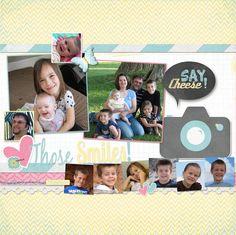 Snapshots Digital Scrapbooking Stickers scrapbook by AdorningFotos